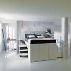 Кровать-гардероб выше стандартной кровати, но не требует дополнительной высоты потолка. (хранение,гардероб,шкаф,комод,мебель,спальня,современный)