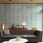 Гостиная соответствует модернистскому стилю дома. (гостинная,жилая комната,1950-70е,архитектура,дизайн,интерьер,экстерьер,мебель)