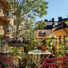 Одно из самых романтических мест квартиры - это балкончик.