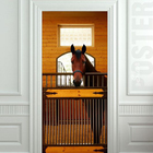 Отличные фотообои привнесут немного конюшни в ваш дом. (лошади,кони,фотографии лошадей,картины лошадей,интерьер,дизайн интерьера)