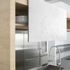 Кухня Archea. Кухонная мойка является частью столешницы из нержавейки. (кухня,дизайн кухни,интерьер кухни,кухонная мебель,мебель для кухни,минимализм,мебель)