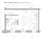 План нижнего уровня квартиры