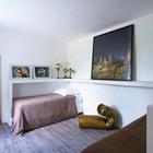 Гостевая спальня с двумя кроватями. (спальня,дизайн спальни,интерьер спальни,традиционный,интерьер,дизайн интерьера,мебель)