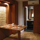 Жилая комната в варианте столовой (столовая,кухня,пляжный,современный,архитектура,дизайн,интерьер,экстерьер,мебель,маленький дом)