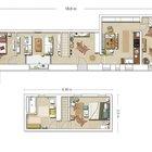План дома. Первого и второго этажей.