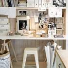 Домашний офис стилиста. (домашний офис,офис,мастерская,скандинавский,интерьер,дизайн интерьера,мебель)