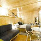 Жилое пространство (жилая комната,спальня,мебель,архитектура,дизайн,интерьер,экстерьер,маленький дом,минимализм)