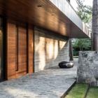 Выход во внутренний двор дома. (фасад,1950-70е,середина 20-го века,архитектура,дизайн,экстерьер)