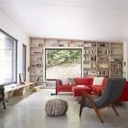 Бетонные полы поддерживают общую стилистику помещений выдержанную в стиле лофт. (гостиная,дизайн гостиной,интерьер гостиной,мебель для гостиной,индустриальный,лофт,винтаж,стиль лофт,индустриальный стиль,интерьер,дизайн интерьера,мебель)