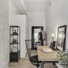 Домашний офис в стиле лофт со стальной мебелью. (индустриальный,лофт,винтаж,стиль лофт,индустриальный стиль,интерьер,дизайн интерьера,мебель)
