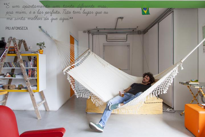 Кто не мечтает иметь гамак прямо в квартире?