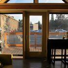 Вход в дом (вход,прихожая,современный,маленький дом,архитектура,дизайн,интерьер,экстерьер,мебель)