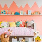 Еще одна детская спальня для девочки. (детская,игровая,детская комната,детская спальня,дизайн детской,интерьер детской,интерьер,дизайн интерьера,мебель,скандинавский)