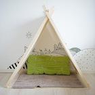 Простой, но очень функциональный шалаш для детей. (детская,игровая,детская комната,детская спальня,дизайн детской,интерьер детской,интерьер,дизайн интерьера,мебель,скандинавский)