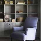 Кресло - яркий пример удачного смешения стилей и смелого подбора цветов. (1950-70е,середина 20-го века,архитектура,дизайн,экстерьер,интерьер,дизайн интерьера,мебель,гостиная,дизайн гостиной,интерьер гостиной,мебель для гостиной)