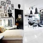 Фотографии и маски на стене над диванчиком привносят в дом индивидуальности заполняя дом воспоминаниями и эмоциями. (индустриальный,лофт,винтаж,стиль лофт,индустриальный стиль,интерьер,дизайн интерьера,мебель,квартиры,апартаменты,гостиная,дизайн гостиной,интерьер гостиной,мебель для гостиной,столовая,дизайн столовой,интерьер столовой,мебель для столовой)