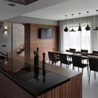 Кухня-столовая (столовая,кухня,современный,мебель,архитектура,дизайн,интерьер,экстерьер)