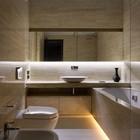 Санузел (ванна,санузел,душ,туалет,современный,архитектура,дизайн,интерьер,экстерьер)