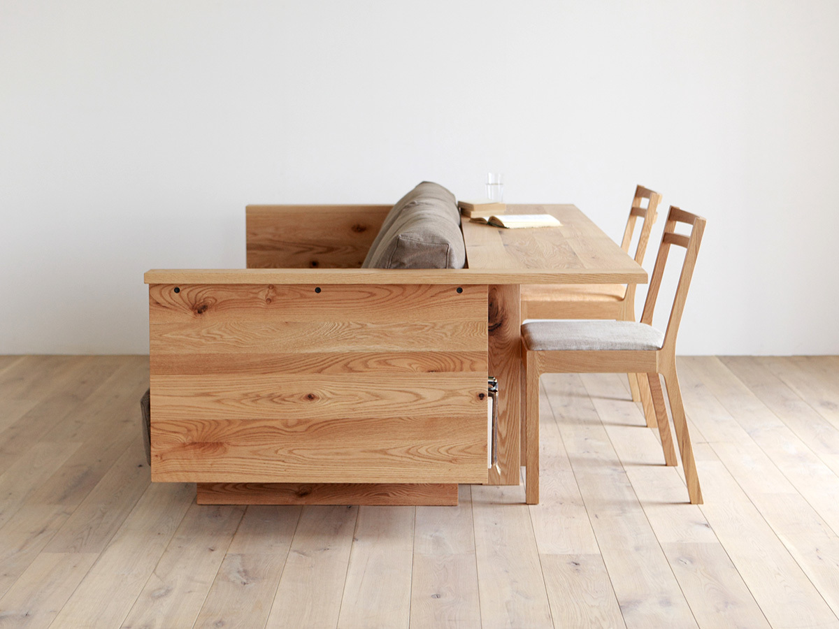 Диван-стол вид сбоку.