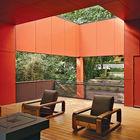 Терраса с газовым камином и удобной мебелью. (современный,архитектура,дизайн,экстерьер,интерьер,дизайн интерьера,мебель,на открытом воздухе,патио,балкон,терраса)