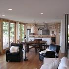 Гостиная и вход в главную спальню. (архитектура,дизайн,экстерьер,интерьер,дизайн интерьера,мебель,современный,кухня,дизайн кухни,интерьер кухни,кухонная мебель,мебель для кухни,столовая,дизайн столовой,интерьер столовой,мебель для столовой,гостиная,дизайн гостиной,интерьер гостиной,мебель для гостиной,жилая комната)