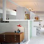 Жилая комната и домашний офис