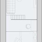 Схема второго уровня квартиры.