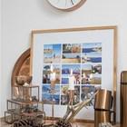 Декор на барной стойке - подсвечники и воспоминания в фотографиях.