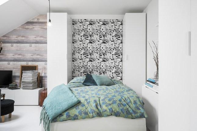 Кровать Мерфи в разложенном виде.