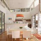 Гостиная переходит в столовую и кухню. (архитектура,дизайн,экстерьер,интерьер,дизайн интерьера,мебель,современный,кухня,дизайн кухни,интерьер кухни,кухонная мебель,мебель для кухни,столовая,дизайн столовой,интерьер столовой,мебель для столовой)