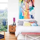 Новая главная спальня. (1950-70е,середина 20-го века,архитектура,дизайн,экстерьер,интерьер,дизайн интерьера,мебель,спальня,дизайн спальни,интерьер спальни)