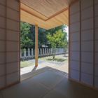Японский зал (жилая комната,восточный,архитектура,дизайн,интерьер,экстерьер)