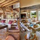 Массивные деревянные балки и мягкие натуральные цвета вполне характерны средиземноморскому стилю.
