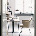 Удобное кресло необходимо для любого офиса, главное чтоб оно подходило именно вам. (домашний офис,офис,мастерская,минимализм,интерьер,дизайн интерьера,мебель)