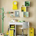 Желтый и зеленый одни из самых популярных гендерно нейтральных цветов для детской комнаты. (детская,игровая,детская комната,детская спальня,дизайн детской,интерьер детской,интерьер,дизайн интерьера,мебель,архитектура,дизайн,экстерьер,современный)