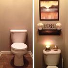 Просто удивительно как небольшое количество декора может изменить ванну.