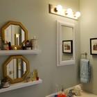 Зеркала - не только необходимый элемент ванной комнаты, но они могут быть и прекрасным элементом декора. (ванна,санузел,душ,туалет,дизайн ванной,интерьер ванной,сантехника,кафель,интерьер,дизайн интерьера,сделай сам,самоделки)