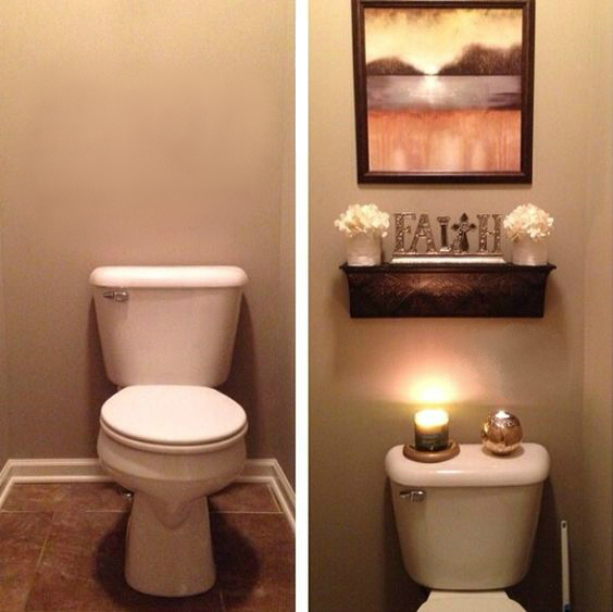 Просто удивительно как небольшое количество декора может изменить ванну