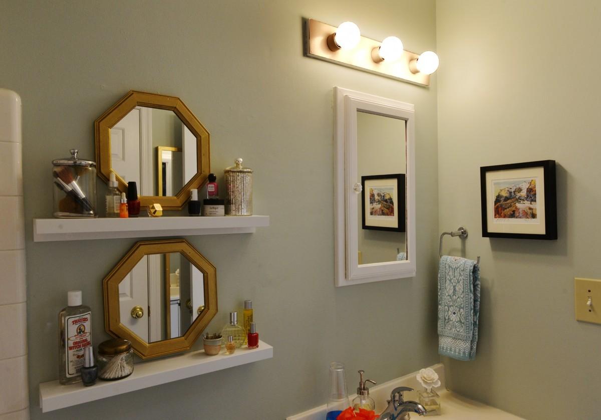 Зеркала - не только необходимый элемент ванной комнаты, но они могут быть и прекрасным элементом декора