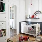 Детская комната со скандинавским интерьером со стильными винтажными игрушками. (индустриальный,лофт,винтаж,стиль лофт,индустриальный стиль,скандинавский,квартиры,апартаменты,мебель,интерьер,дизайн интерьера,новый год,рождество,средиземноморский,детская,игровая,детская комната,детская спальня,дизайн детской,интерьер детской)