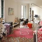 Вместо потолочного светильника в жилой комнате использован замечательный настенный с длинной поворотной штангой. (индустриальный,лофт,винтаж,стиль лофт,индустриальный стиль,скандинавский,квартиры,апартаменты,мебель,интерьер,дизайн интерьера,новый год,рождество,средиземноморский,гостиная,дизайн гостиной,интерьер гостиной,мебель для гостиной,жилая комната)
