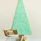 Все что понадобится для изготовления этой не занимающей место елки - это цветная бумага, ножницы, клей и доска, кусок картона или фанеры на котором ее закрепить. (новый год,рождество,елка,подарки,декор,елочные игрушки,хвоя,гирлянды,конфети,сделай сам,самоделки,скандинавский)
