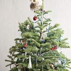 Минимализм не требует отказа от традиционных самодельных и винтажных елочных украшений. Главное не перегрузить им елку. (новый год,рождество,елка,подарки,декор,елочные игрушки,хвоя,гирлянды,конфети,сделай сам,самоделки,интерьер,дизайн интерьера,минимализм,скандинавский)