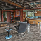 Гостиная - столовая и домашний офис