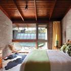 Родительская спальня. (1950-70е,середина 20-го века,медисенчери,медисенчери модерн,архитектура,дизайн,экстерьер,интерьер,дизайн интерьера,мебель,спальня,дизайн спальни,интерьер спальни)