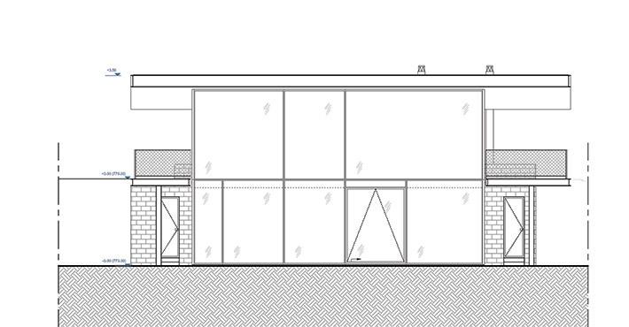 Передний фасад