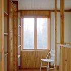 Второй этаж. Дверь ведет в одну из спален.
