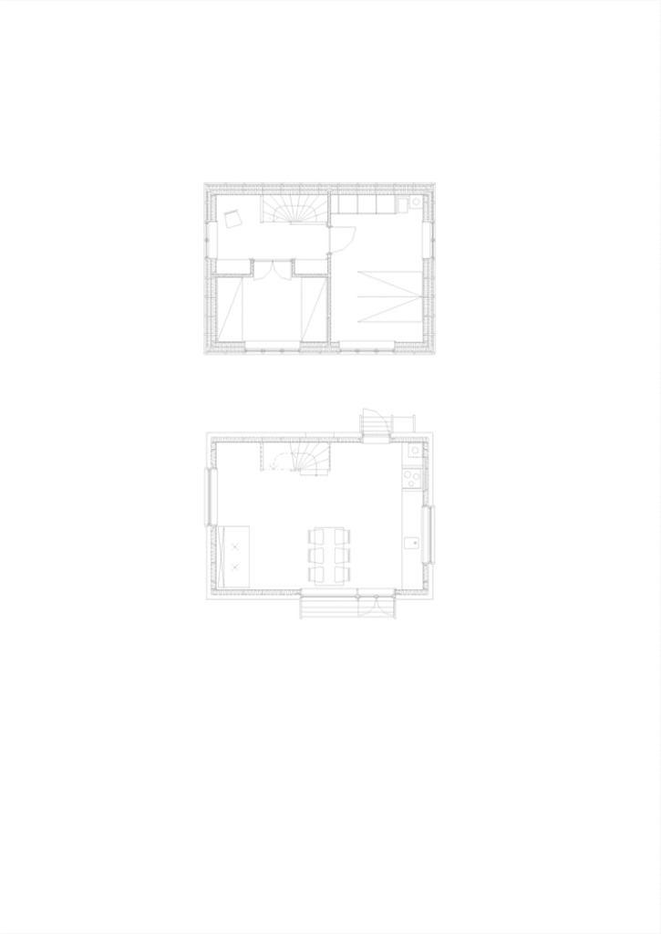 План этажей дома
