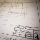 Скан оригинальных чертежей дома.