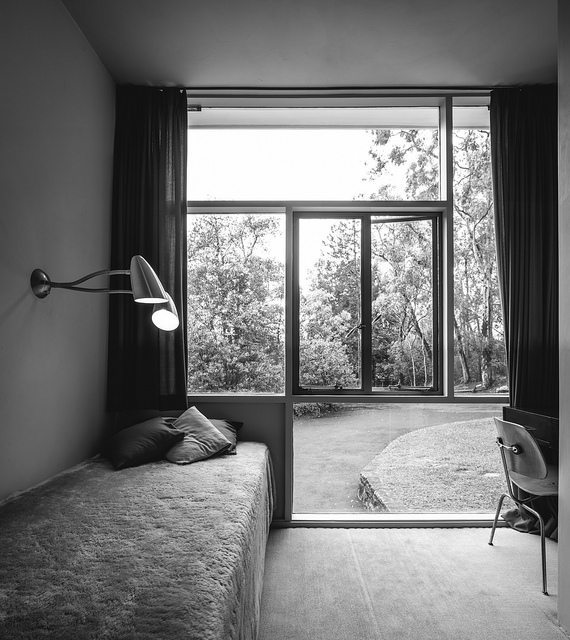 Вторая маленькая спальня в доме.